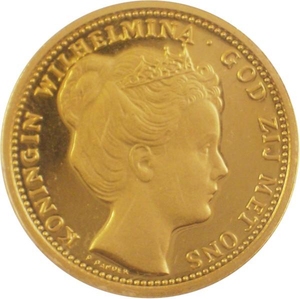 gouden munten wilhelmina