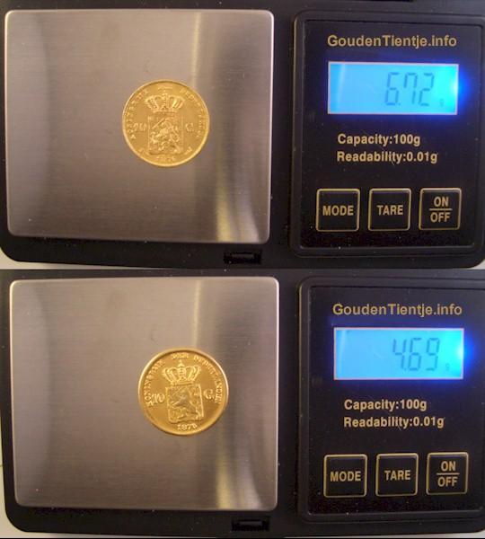 waarde gram goud